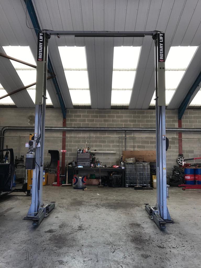 Rotary SPO 54 2 Post Lift – AGS Garage Equipment