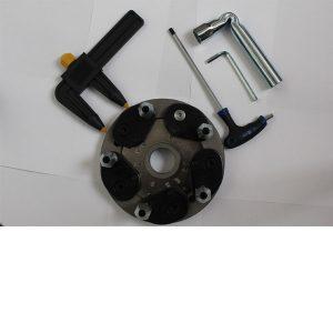 Universal tyre adapter